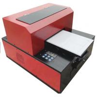 Buy cheap Multifunction Desktop UV LED Flatbed Printer A3 Size 6 Color Easy Installation And Maintation from wholesalers