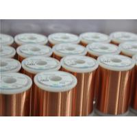 Different Colors Enamelled Copper Winding Wire Super Fine 0.018 - 0.8mm For Motors