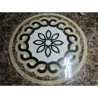 Buy cheap Foshan Factory Customized Size Flower Carpet Tile from wholesalers