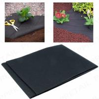 Buy cheap 50G Heavy duty weed control fabric ground cover membrane gardening landscape mulch from wholesalers