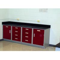 Buy cheap PVC Edged LaminateDental Work Bench , Abrasion Resistance Dental Clinic Furniture from wholesalers