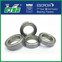 Buy cheap Deep Groove Thin Wall Ball Bearings For Motocircle Motor Low Noise 6802 ZZ from wholesalers
