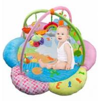 Buy cheap Custom Made Lovely Flower Baby Play Gyms Playmat And Gym For Babies from wholesalers