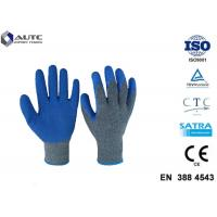 Buy cheap Cut Resistant Gloves Flexible Breathable Nylon HPPE Glass Fiber Latex Coated from wholesalers