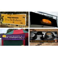 Buy cheap Flex Vinyl Banners halloween banners Printing Outdoor Signs from wholesalers