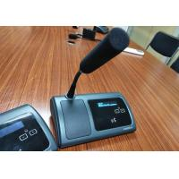 Buy cheap Portable Desktop Conference Microphone Delegate Unit / Audio Conference System from wholesalers