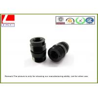 Buy cheap Black POM / Derlin ABS / PVC CNC Plastic Machining For Mechanical Parts from wholesalers