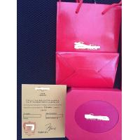 Buy cheap Customized packaging box black red jewelry & paper watch box from wholesalers