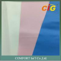 Buy cheap 0.4mm 180cm Wide Plain PVC Synthetic Leather For Mattress CE REACH from wholesalers