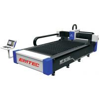 Buy cheap 6mm MS Plate Laser Cutting Machine IPG500W fiber laser cutting machine from wholesalers