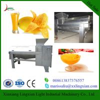 Buy cheap Full Automatic Mango Processing Equipment Mango destoner and beater for sale from wholesalers