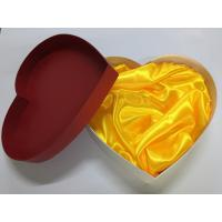 Buy cheap Heart Shaped Blister Paper Packing Box / Cardboard Packaging Boxes from wholesalers