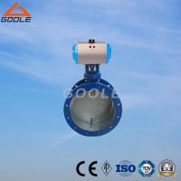 Buy cheap Pneumatic Flanged Soft Seal on/off Aeration Butterfly Valve (D641) from wholesalers