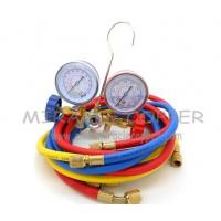 Buy cheap A/C Refrigeration Brass Manifold Set R12.R22.R502 from wholesalers