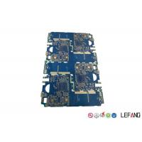 Buy cheap Blue Solder Mask Multilayer PCB Board For Impedance Communication Equipment product