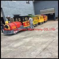 Buy cheap Attractions tourist road train  trackless train for sale from wholesalers