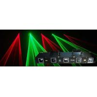 Buy cheap Four Heads Red Green Disco Laser Light DMX512 Laser Lighting from wholesalers