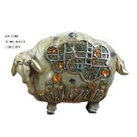 Buy cheap Polyresin Sheep Figurine Decoration (D24-78008) from wholesalers