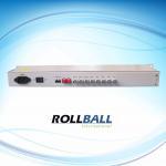 Buy cheap 246 * 140 * 31 mm Singlemode / Multimode 16E1 + Ethernet Port PDH Fiber Optic Multiplexers from wholesalers