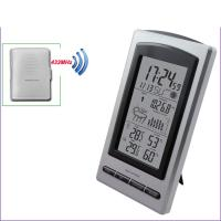 Buy cheap Wireless Weather Station Digital Indoor/Outdoor Thermometer Hygrometer Temperature Humidity Meter Date Alarm ClockMS1066 from wholesalers