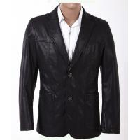 Buy cheap Western Plus Size, Big and Tall, Excelled and Classic Young Mens PU Leather Blazers product