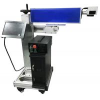 Buy cheap Plastic Pipe Cable Co2 Laser Marking Machine 0.001MM Working Accuracy from wholesalers
