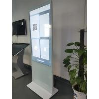 Buy cheap 55 Inch White Digital Signage Totem LCD Display Inter Core I3 Cpu AC100~240V 50 product