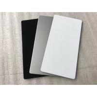 Buy cheap White Interior Wall Cladding Sheets , Anti - Rust Waterproof Cladding For Buildings  product