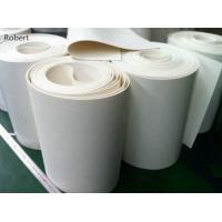 Portable PU Polyurethane Curved Conveyor Belt Material High Straightness