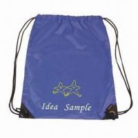 Buy cheap Drawstring Functional Shoe/Storage/Shopping Backpack, Made of H-Q 210D/PU Materials from wholesalers
