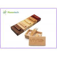 Buy cheap Debossed Logo USB Wooden Memory Sticks 16GB For Company & Individual product