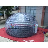 Buy cheap Inflatable Transparent Tent, Inflatable Clear Dome Tent, Inflatable Bubble Tent for Sale from wholesalers