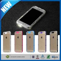 Buy cheap Transparent LED Flash iPhone 6 Plus Protection Case Stylish Soft TPU from wholesalers