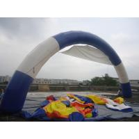Buy cheap Blue and White Color inflatable Arch for Sale / Inflatable Arch Rental from wholesalers