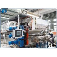 China Single Screw Plastic Sheet Extrusion Machine Manufacturing Equipment High Capacity on sale