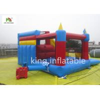 Buy cheap Small Colorful Inflatable Jumping Castle With Slide For Kids Commercial from wholesalers
