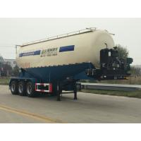 Buy cheap V or W Shape Bulk Cement Truck Semi Trailer Anti - Rust Chassis Surface from wholesalers