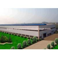 Buy cheap Anti - Corrosion Agricultural Steel Building Construction For Light Workshop from wholesalers