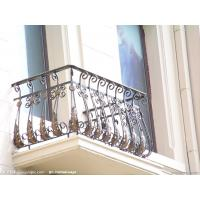 Buy cheap Galvanized wrought iron fence/used wrought iron fencing from wholesalers