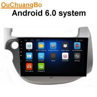 Buy cheap Ouchuangbo car nultimedia kit for Honda Fit with radio gps navigation steering wheel control android 6.0 system from wholesalers