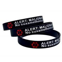 Buy cheap Custom 1 Inch Wide Silicone Bracelets,Debossed Color Filled Silicone Wristbands from wholesalers