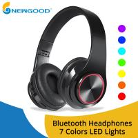 Buy cheap Wireless Headphones Bluetooth Earphone Foldable Adjustable Handsfree Headset with MIC for samsung xiaomi mobile phone from wholesalers