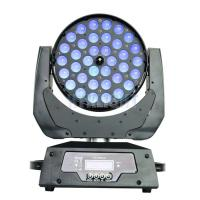 Buy cheap Small 36 * 12W RGBWA UV LED Wash Moving Head / Dj Moving Lights from wholesalers