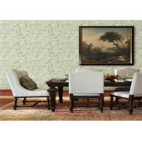 Buy cheap American Style Non Woven Wallpaper Flower Design For Bedroom / Living Room product