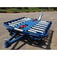 Buy cheap Airport Pallet Dolly , Ground Handling Equipment 76×4 Millimeter Roller from wholesalers