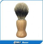 Buy cheap 60mm Hair Height Shaving Care Normal Badger Black Hair Shaving Brush Wood Handle from wholesalers