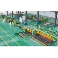 Buy cheap High Speed Rotary Shear Cut To Length Line Steel Roll Forming Machine from wholesalers