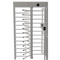 Buy cheap Full Height Pedestrian Turnstile Gate Stainless Steel High Security IC/ID Optional product