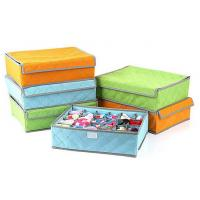 Buy cheap Simple 24 grid soft cover, high-grade underwear bra storage box from wholesalers