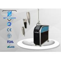 Buy cheap Acne Scar Removal Q Switched Nd Yag Laser Machine For Skin Treatment 3 Wavelength from wholesalers